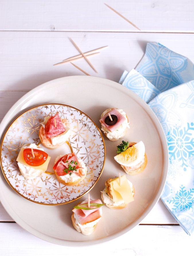 Chlebíčky a jednohubky - 10 rad na krásné a snadné zdobení