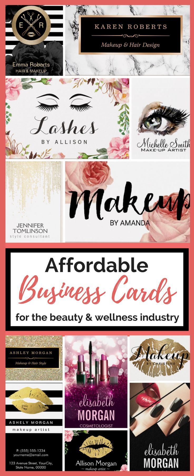 294 best Esthetician   Nail Tech   Lashes business cards images on ...