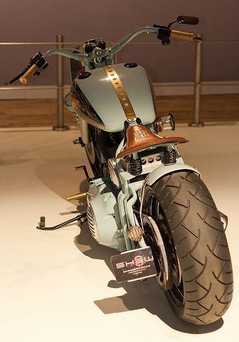 Visit The MACHINE Shop Café... ❤ Best of Bikes @ MACHINE ❤ (Classic Custom Harley-Davidson)