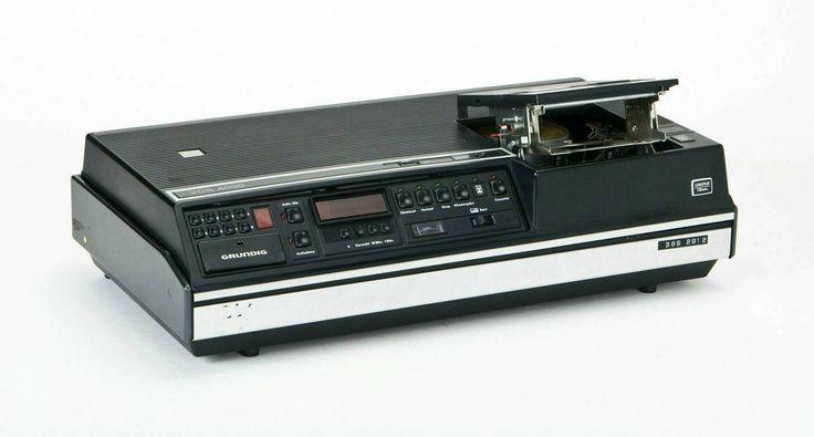 Grundig VCR 4000 (video recorder, 1976-1978). CC-BY BAM Portal / Technoseum