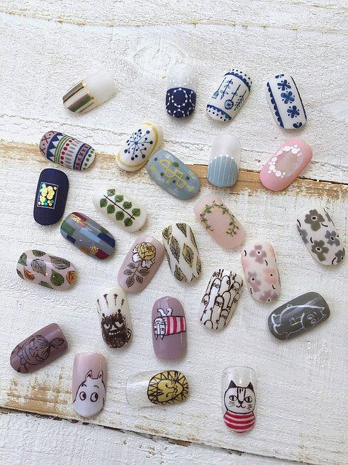 """隠れ家サロン「kokonail(ココネイル)」は全て手描きで、爪先に""""きゅん""""をたくさん作り出してくれます♡爪先をみる度に思わずほっこりとしてしまうようなキュートなネイルの揃う「kokonail( ココネイル)」で可愛らしくしてみませんか?"""