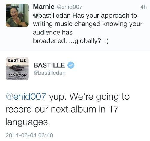 bastille facebook page