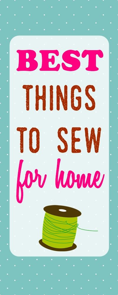 sewing projects | easy sewing projects | sewing ideas | simple sewing projects for home