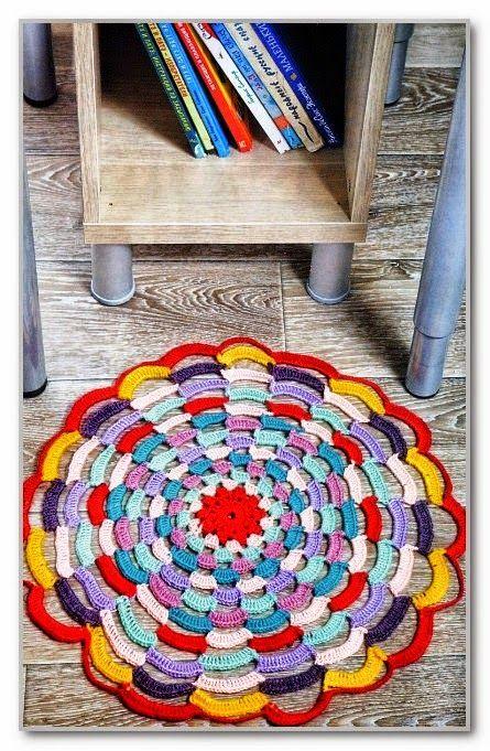 Todo crochet Alfombras, Tapetes, Agarraderas a crochet