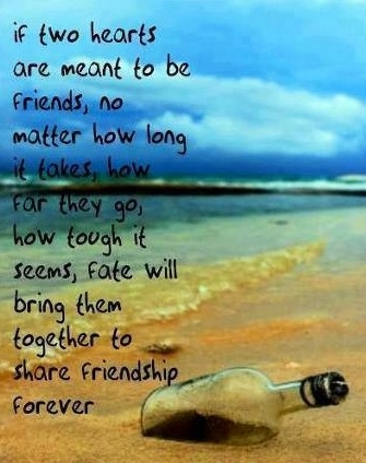 I love this quote and I'll love all of my 12 best friends and I dearly hope we can be best friends no matter how old we get and no matter how far away we live