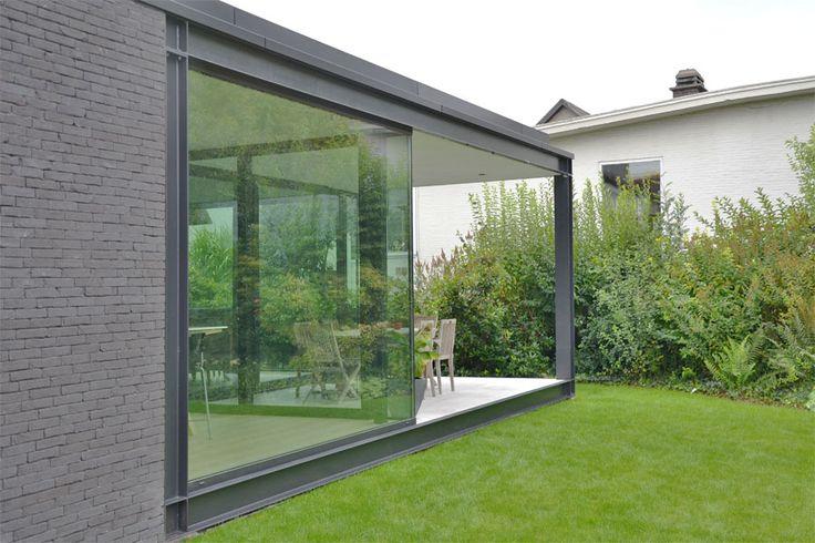 86 beste afbeeldingen over hvh architecten op pinterest - Overdekt terras in aluminium ...