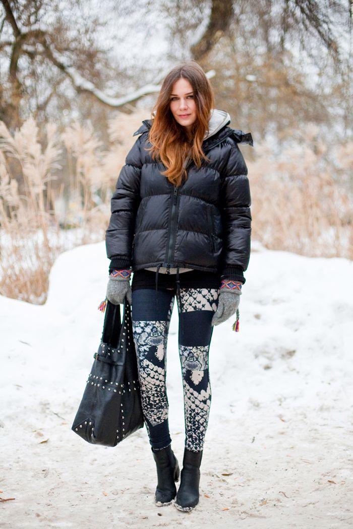 Puffer Black Down Coat. I want this coat! | Wears ...