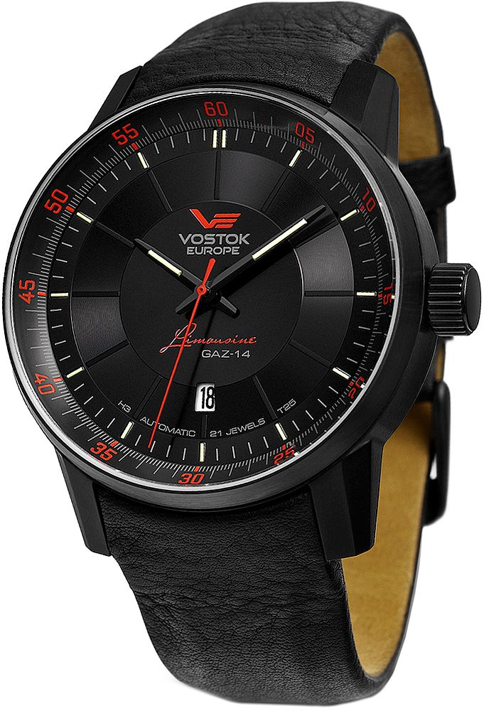 Zegarki Vostok Europe super czarny #vostok #black #watches