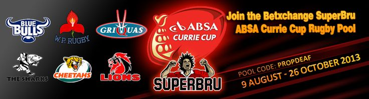 GEAR UP FOR ANOTHER ACTION PACKED ‪#‎ABSACURRIECUP‬ SEASON AT KEITH HO BETXCHANGE  Join the Betxchange Currie Cup pool on www.superbru.com & make your picks for each SuperBru round. If you beat the Betxchange captain for the round your Betxchange account will be credited with R100.