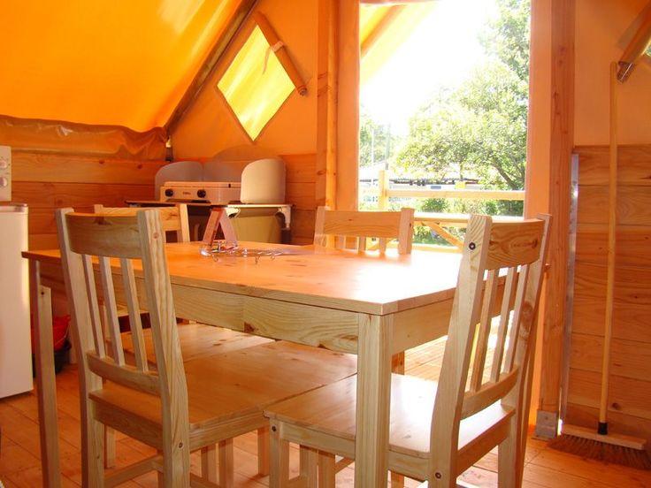 location tente canadienne 4 pers Pays Basque - ARENA CAMPING - Saint Jean de Luz