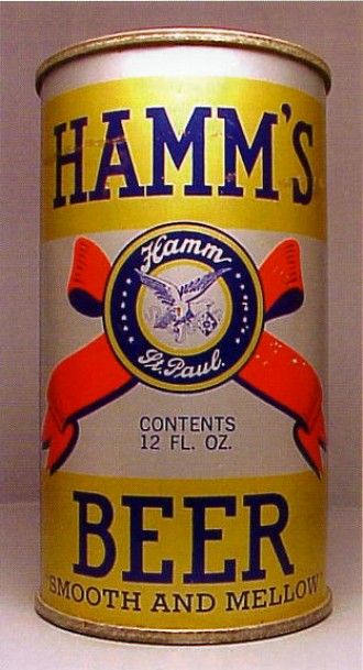 Hamms Beer Can