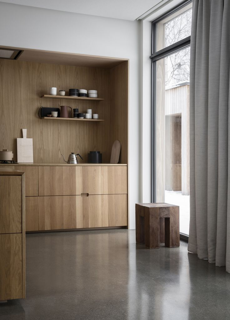 Photo 11 of 199 in Best Kitchen Wood Photos from A Cubic Dwelling in Norway Just Oozes Hygge - Dwell