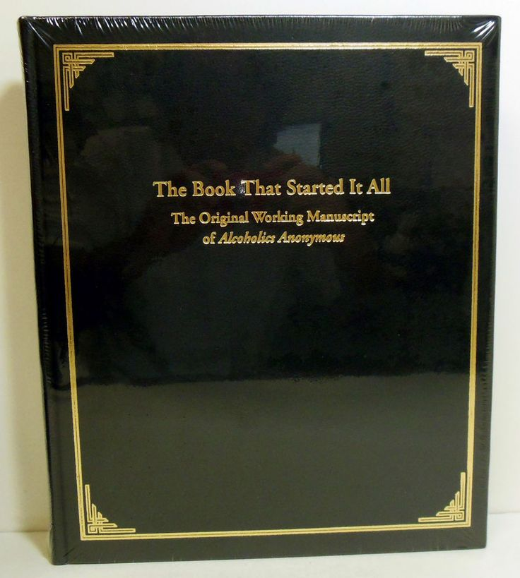 22 best aa and na recovery books and workbooks images on pinterest leather bound numbered edition the book that started it all in antiquarian collectible ebay fandeluxe Image collections