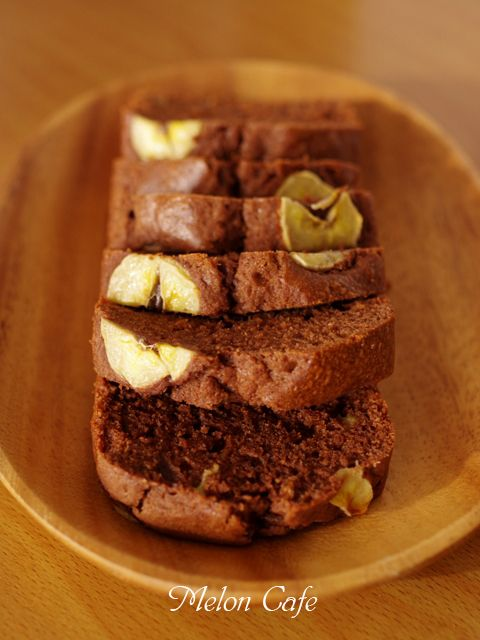 ホットケーキミックスでつくるチョコバナナパウンドのケーキ01