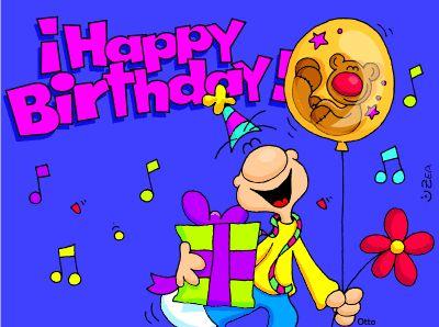 Mensajes de Cumpleaños, tarjetas animadas de cumpleaños, imágenes de cumpleaños, tarjetas graciosas de cumpleaños y más.