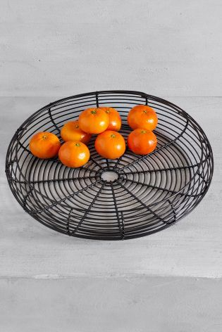 Black Wire Fruit Bowl From The Next Uk Online