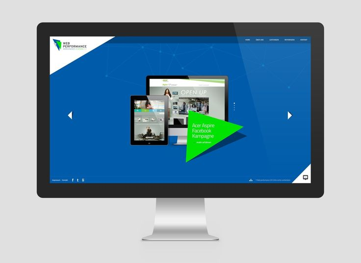Web Performance webdesign by Benvisual