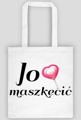 """Kocham Śląsk: Eko Torba """"Jo lubia maszkecić"""""""