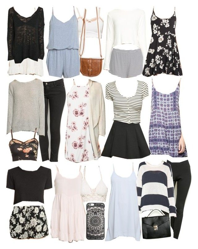 """""""Allison Inspired Brandy Melville Outfits"""" by veterization ❤ liked on Polyvore"""