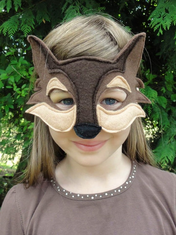 Wolf mask child type