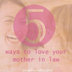 severing relationship with mother in law