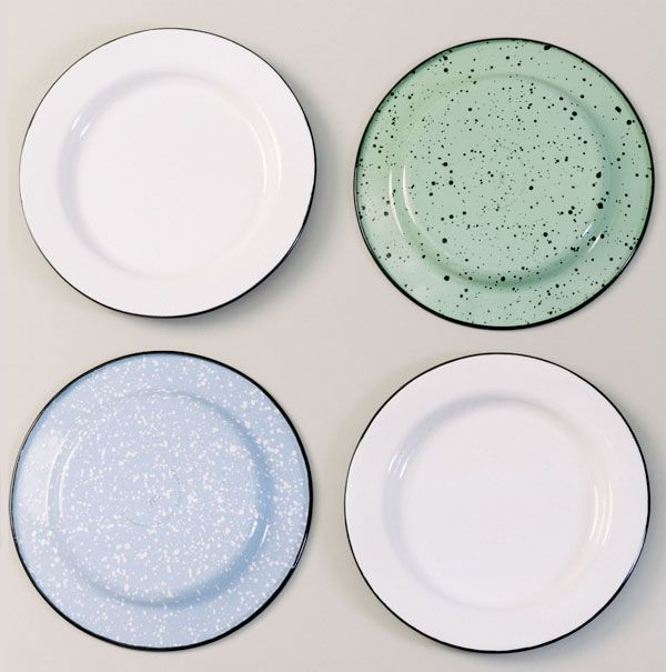 Porcelain Enamel Dinnerware Comes to Barn Light Electric! | Barn Light Electric Blog