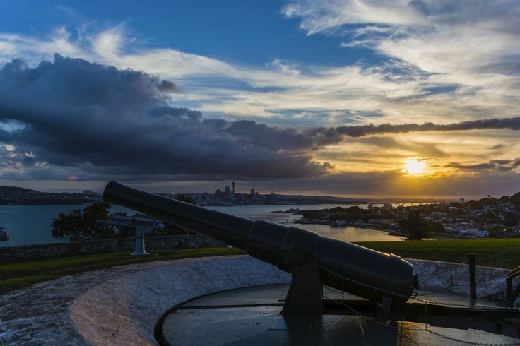 North Head, Devonport, Auckland, New Zealand. Fear of invasion in the late 1800s lead to a defence fort being built at North Head to defend the Rangitoto channel in the Waitemata Harbour. The fort had a series of tunnels leading to heavy guns, ammunition depots and barracks.