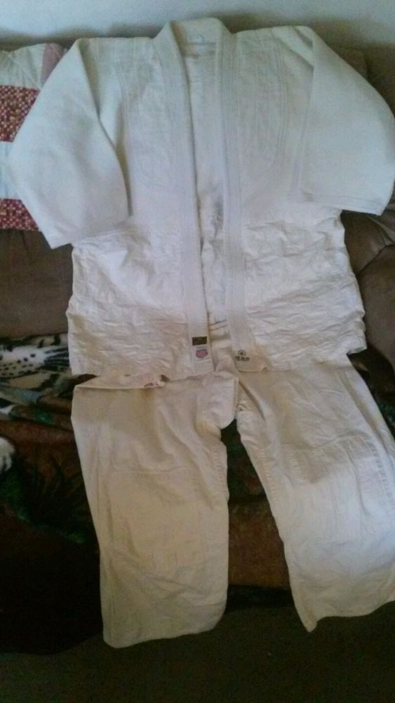 Vintage Jiu Jitsu Judo Gi Martial Arts Uniform Karate