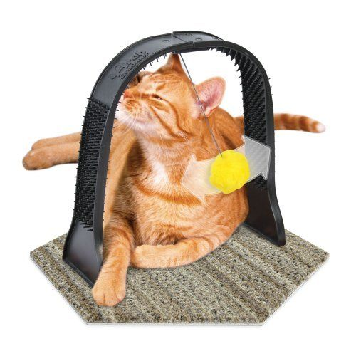 The Arch Groomer - cat scratcher and groomer
