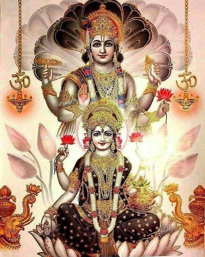 112 best Lord Shri Maha Vishnu & Lakshmi Devi images on ...  112 best Lord S...