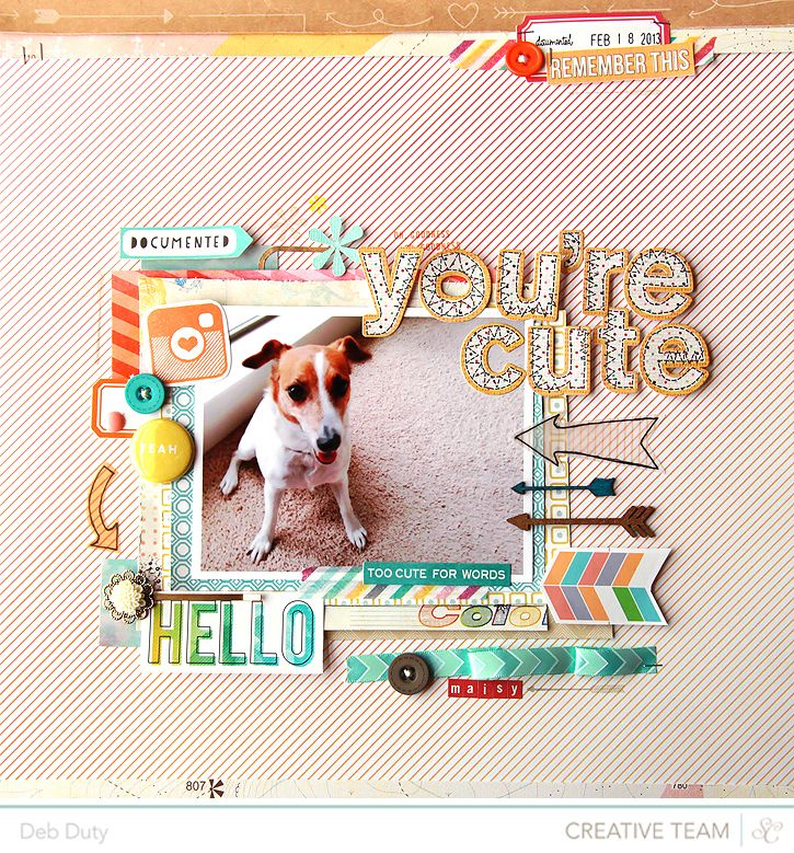 #papercraft #scrapbook #layout.  deb duty {photography + scrapbooking}: scrapbook layouts: neverland