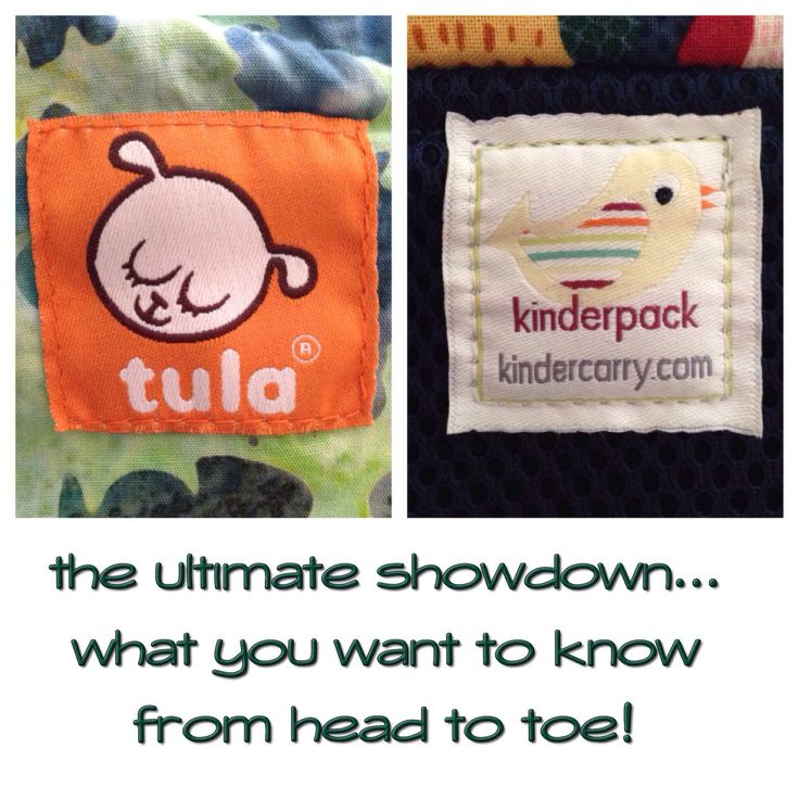 Tula vs. Kinderpack… Ultimate Show Down! (this doesn't cover everything but it covers a lot)