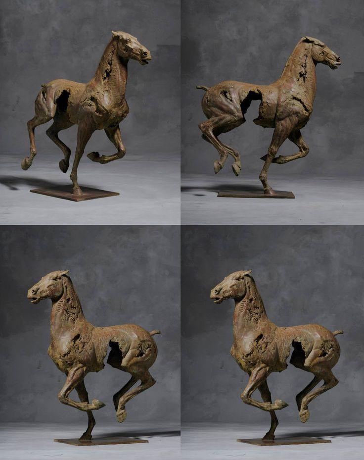Sculptures De Christophe Charbonnel The Horse