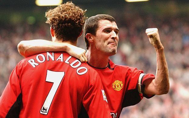Roy Keane says Ronaldo's move to #MUFC sealed by John O'Shea 'playing like a f****** clown'