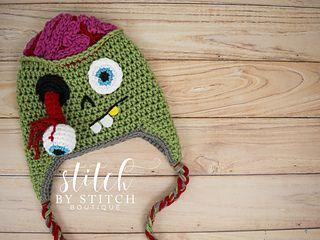 Ravelry: Zombie Hat pattern by Tasia Bruderer