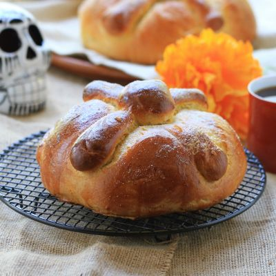 Day of the Dead Bread Recipe | Mexican Food | Pinterest