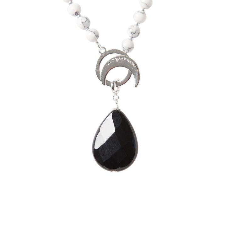 Black Onyx Strength Amplifier - Silver by Tiny Devotions