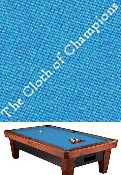 Other Billiards 1292: Simonis 760 Billiard Pool Table Cloth Felt - 7 Foot - Tournament Blue -> BUY IT NOW ONLY: $226.95 on eBay!