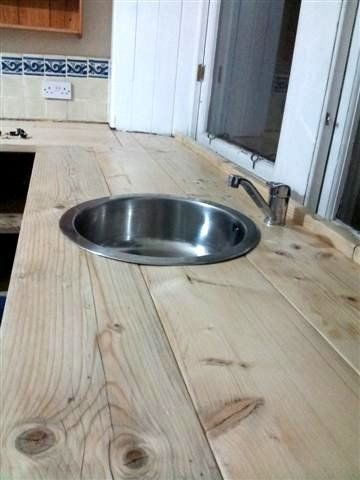 worktops out of scaffold board - Google Search                                                                                                                                                     More
