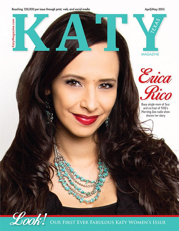 Erica Rico loves living in Katy, TX! Find out how the 93Q Morning Zoo host balances family life and a stellar radio career!
