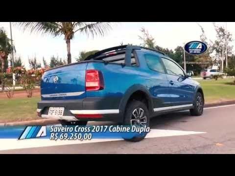 Test Drive Saveiro Cross 2017 - Cabine Dupla - YouTube