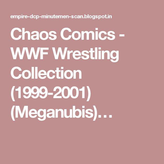 Chaos Comics - WWF Wrestling Collection (1999-2001) (Meganubis)…