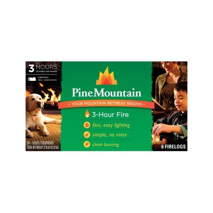 Pine Mountain 3 Hour Traditional Fire Logs - Ace Hardware