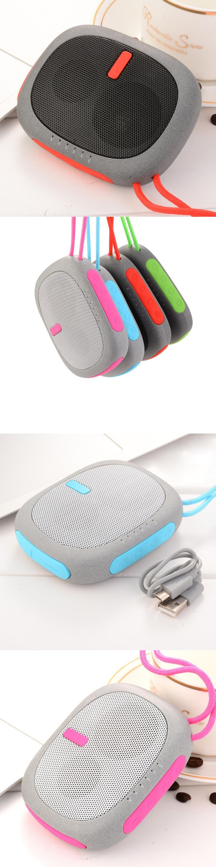 MINI Wireless Portable Bluetooth Sport  Music Stereo Speaker pocket Design Build-in 2600mAH Lithium Battery Support TF Card