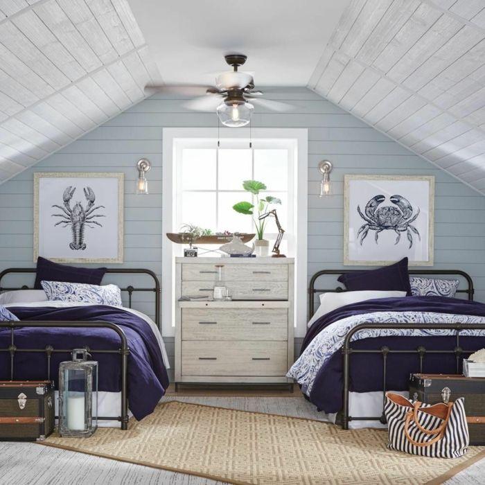 1001 Ideen Und Inspirationen Fur Maritime Deko Basteln In 2020 Modernes Schlafzimmer Schlafzimmer Design Schlafzimmer Einrichten