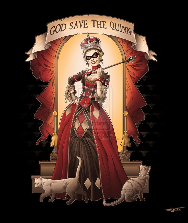 God Save The Quinn by angelsaquero