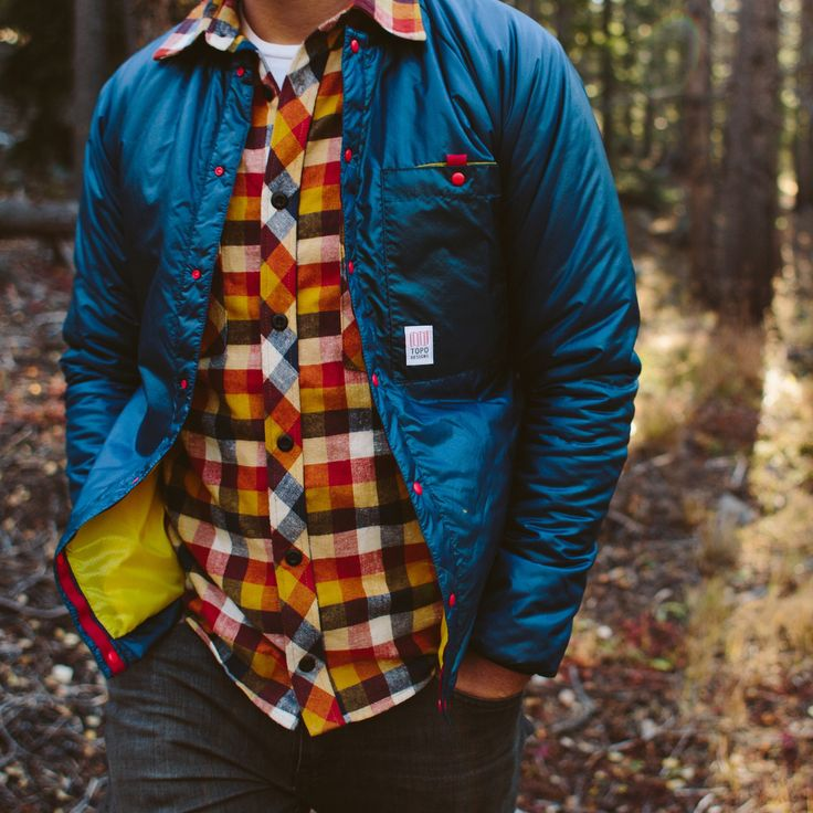 Topo Designs Puffer Cardigan  http://topodesigns.com/collections/mens-outerwear/products/puffer-cardigan