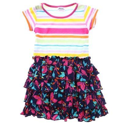 Dress-SN-H3875-C-FucBluOra $15.00 on Ozsale.com.au