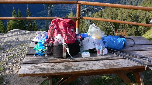 What I packed for my mini Tour de Mont Blanc walk – video