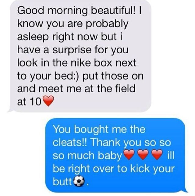 that would be the awesomest boyfriend ever. no joke.
